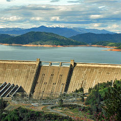 shasta dam california